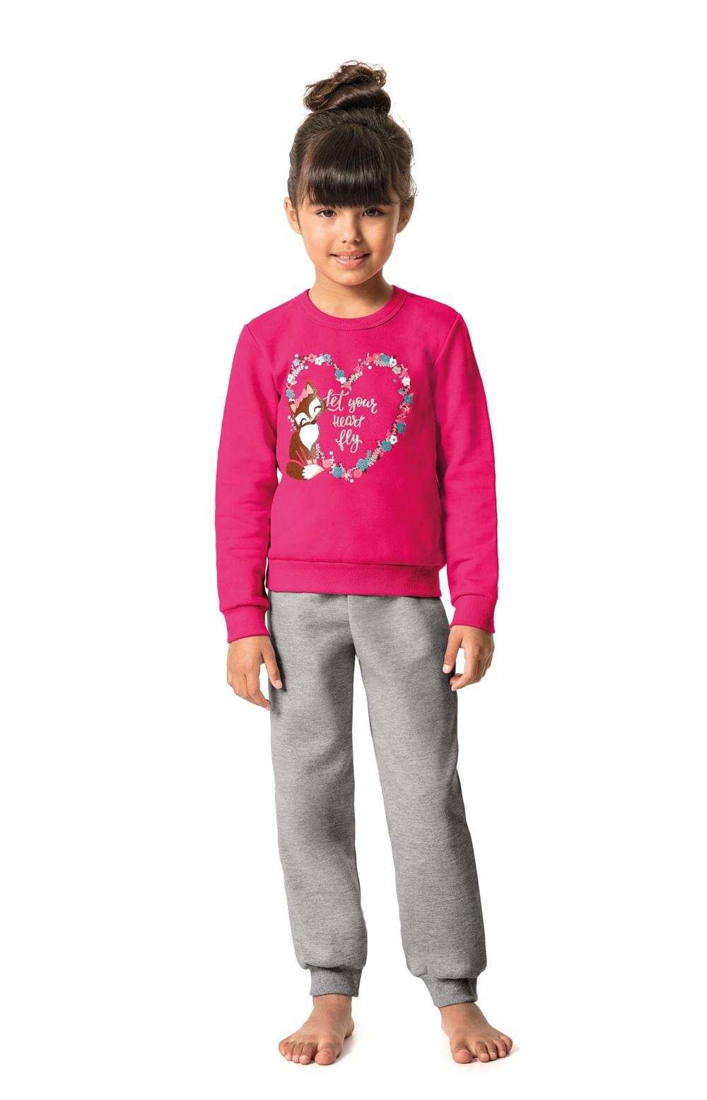 caba09114 Pijama feminino infantil Malwee Liberta - malwee