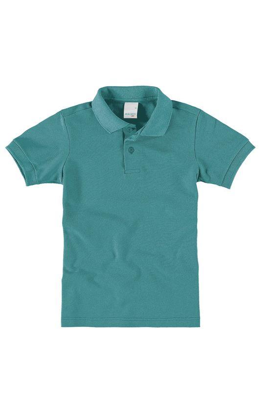 Camisa polo infantil Malwee Kids Azul - 1