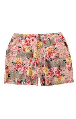 Shorts-Comfort-Floral-Malwee