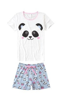 Pijama-Curto-Estampado-Panda-Malwee-Liberta