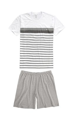 Pijama-Curto-Listrado-Masculino-Malwee-Liberta