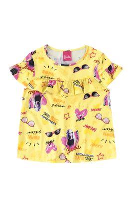 Blusa-Com-Babado-Barbie®-Menina-Malwee-Kids