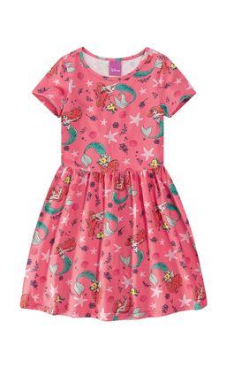 Vestido-A-Pequena-Sereia®-Menina-Malwee-Kids