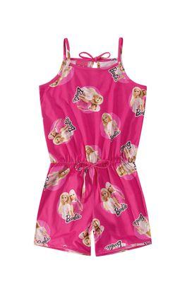 Macaquinho-Meia-Malha-Barbie®-Menina-Malwee-Kids