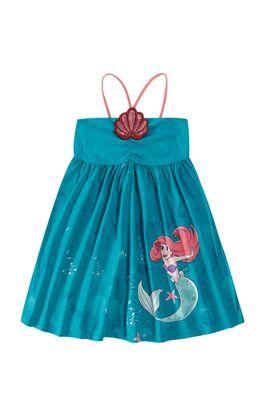 Vestido-A-Pequena-Sereia®-Com-Bordado-Menina-Malwee-Kids